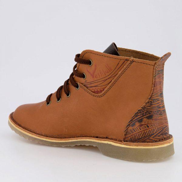 Vellies Hi-Riser heel left