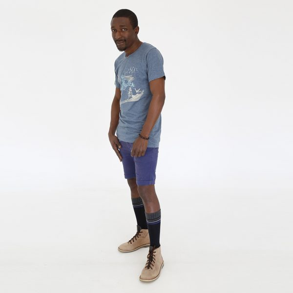 San Horison T-shirt and vellies