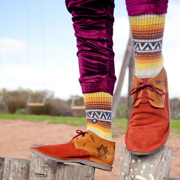 Vellies for the fashionable.